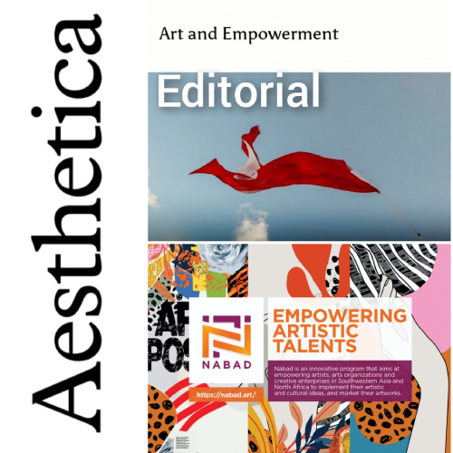 Art and Empowerment – Aesthetica Magazine Editorial about Nabad (York, United Kingdom)